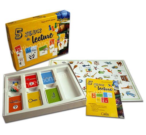 5 jeux de lecture
