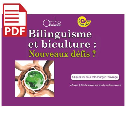 Bilinguisme et biculture : Actes 2012 (pdf)