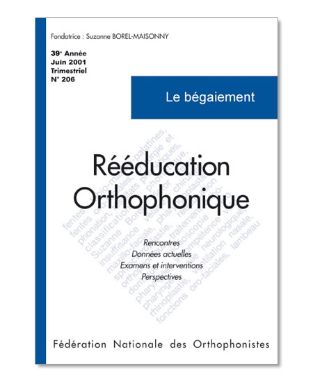 N° 206 - Le bégaiement (PDF)