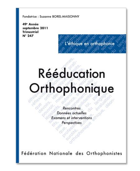 N° 247 - L'éthique en orthophonie