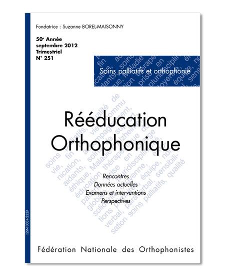 N° 251 - Soins palliatifs et orthophonie