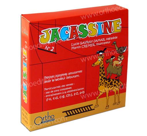 Jacassine - Coffret n°2 de 6 livres