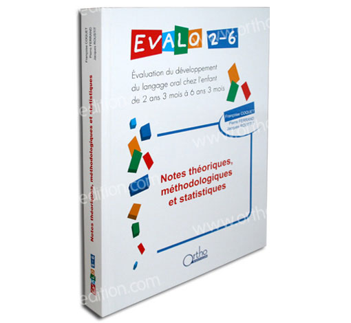 EVALO 2-6 - l'ouvrage de référence