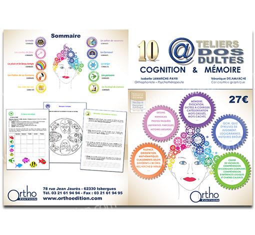 10 Ateliers Ados Adultes - Cognition et Mémoire (pdf*)