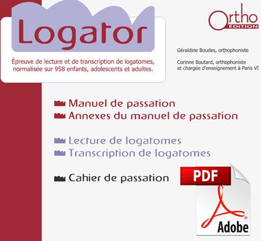 Logator (pdf)