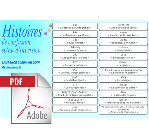 Histoires de confusion et/ou d'inversion (pdf)