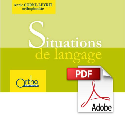 Situations de langage (PDF)