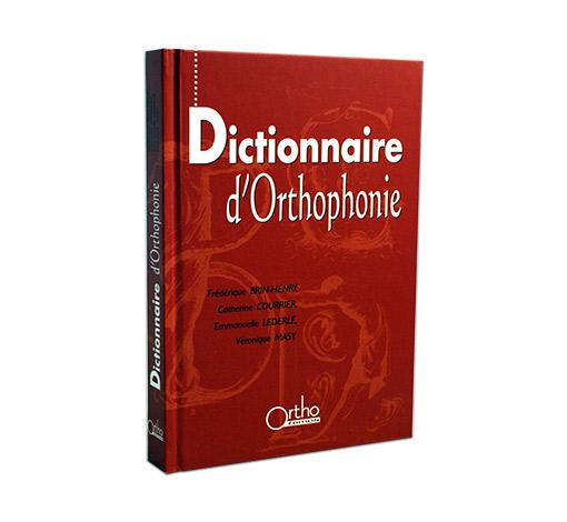 Dictionnaire d'orthophonie - 4ème édition