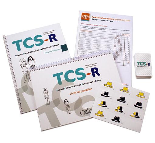 TCS-r - Test de Compréhension Syntaxique-révisé