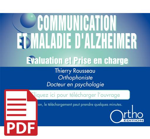 Communication et maladie d'Alzheimer (pdf)