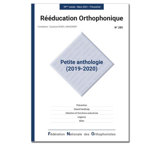 N°285 - Petite anthologie (2019-2020)